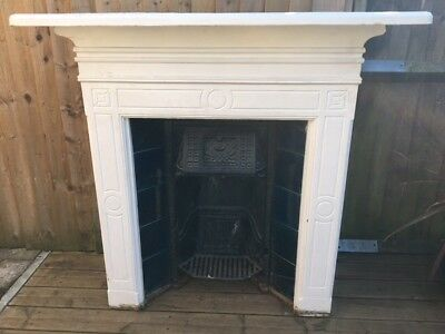 Victorian Cast Iron Fire Place And Surround