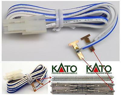 KATO 24-805 CABLE for POWER SUPPLY TRACKS UNIVERSAL with SHEATHS METAL LADDER-N