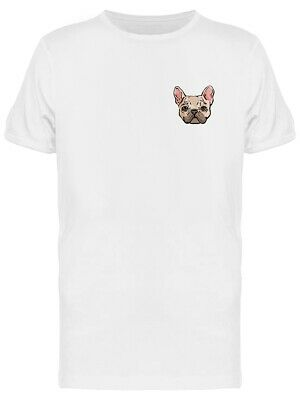French Bulldog Line Art Style Tee Men's -Image by Shutterstock