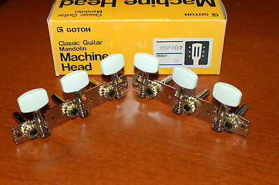 Vintage 1980s Gotah Japan Classic 3x3 New in Box Guitar Tuners Luthier Parts