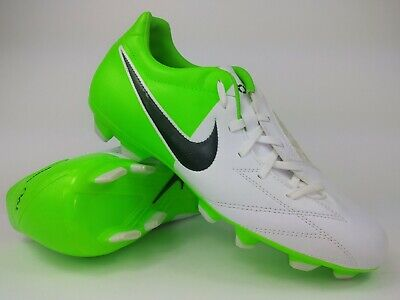 premium selection 7311a 80ee7 Nike Mens Rare T90 Shoot IV FG 472547-170 White Green Soccer Cleats Size 8