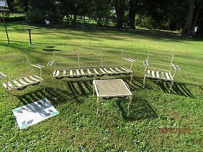 Metal Lawn Furniture-Vintage- Heavy Metal -Pattern Grapes Local Pickup Only