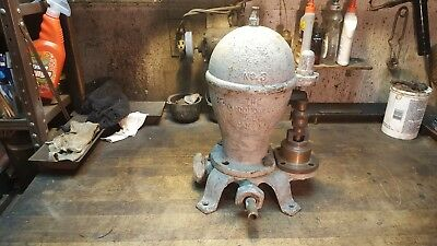 R McDougle Galt Canada No. 3 Water Ram Pump Hit Miss Gas Engine Show Piece Pump