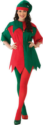 Red Green Elf Dress Womens Adult Costume Standard Size NEW Christmas