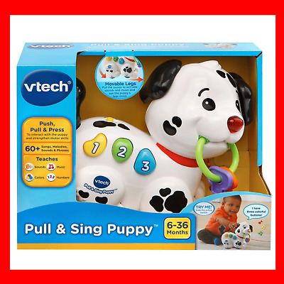 VTech Pull and Sing Puppy Toys For 1 to 3 Year Old Toddlers Baby Girl Boy