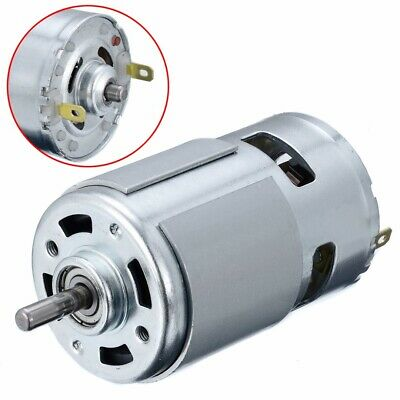 DC 12-24V 150W 13000-15000RPM 775 Micro High Speed Power Motor 5mm Shaft