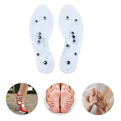 Silicone Shoe Insoles Pads Magnetic Therapy Feet Massage Men/Women Foot Pads