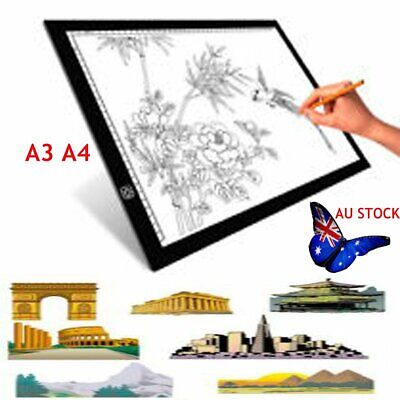 A4/A3 LED Drawing Pad Table Box 5V Tattoo Stencil Board Light Tracing Dimmable