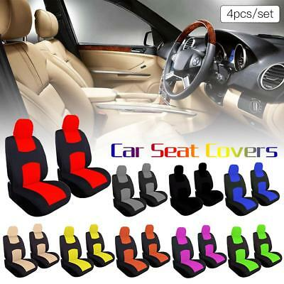 4PCS Front Car Seat Covers Full Set Automobile Seat Protection Cover Universal