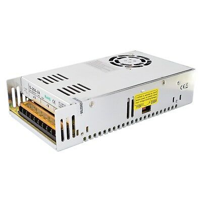 250W 24V 10A Switching Power Supply for Industrial Automation and CNC Machines