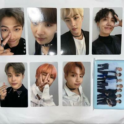 BTS FAKE LOVE Airplane pt.2 FC Fanclub ver. Official 7 Photocard set