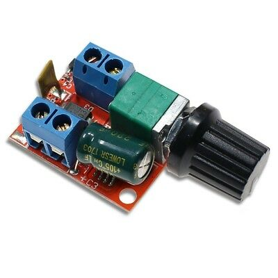 Mini DC 5A Motor Speed Controller 3V-35V Speed Control Switch LED Dimmer