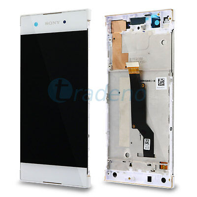 Original Sony Xperia XA 1 XA1 G3121 LCD Display Touchscreen Front Cover weiss