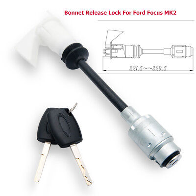Ford Focus C-MAX 2004-12 Bonnet Release Lock Set Kit Réparation Serrure 4556337