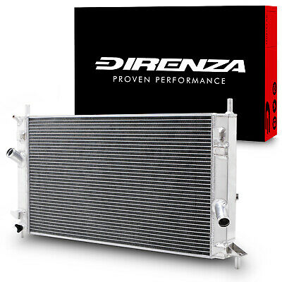 DIRENZA 40mm ALUMINIUM RACE TRACK RADIATOR RAD FORD FOCUS MK2 ST 225 ST225 2.5