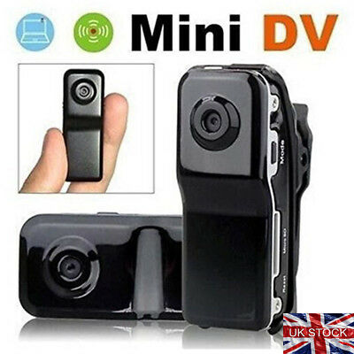 Mini DV Motorcycle Miniature Helmet Video Camera Cam Sports Camcorder Record UK