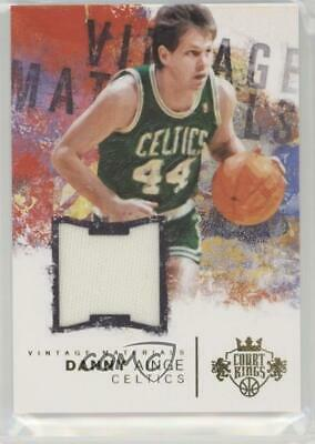 2014 Panini Court Kings Vintage Materials/99 #4 Danny Ainge Boston Celtics Card