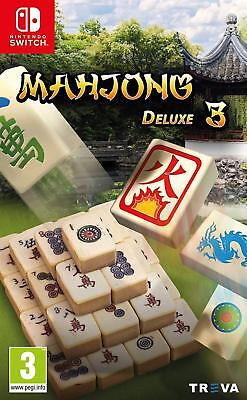 Mahjong Deluxe 3 (Nintendo Switch) game | BRAND NEW & SEALED