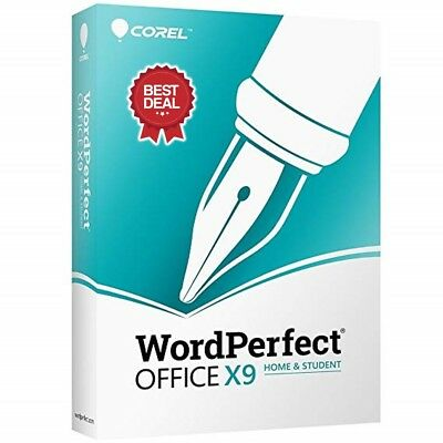 Corel Wordperfect Office X9. Home & Student Edition. Official Download Link+Key