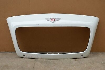 16 17 Bentley Continental GT GTC Main Front Radiator Grille Grill White OEM