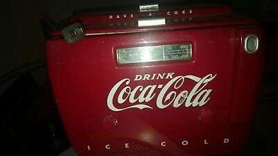 Coca-Cola++Radio/Casetteplayer++USA+110 Volt