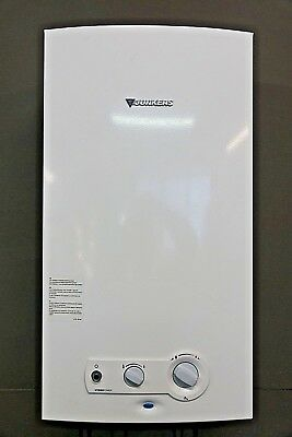 JUNKERS JETATHERMCOMPACT WR 14-2 G23 S7695 Gas-Durchlauferhitzer Boiler Bj.2012