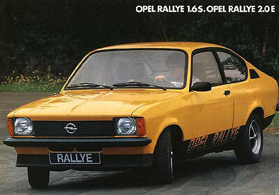 dekor opel kadett rallye 2 0 c gte schriftzug logo. Black Bedroom Furniture Sets. Home Design Ideas
