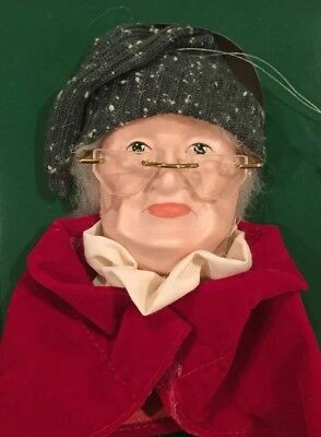 "Department 56 ""Scrooge's Face"" Ornament Dickens Heritage Village Collection 5912"