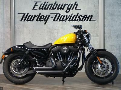 Harley-Davidson Forty Eight Xl1200X 2012 In Yellow