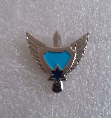 Israel Idf Air Force Ground Defense Personal Force Protection Pin Badge Insignia