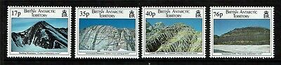 British Antarctic 1995 Geological Structure SG256/9 MNH