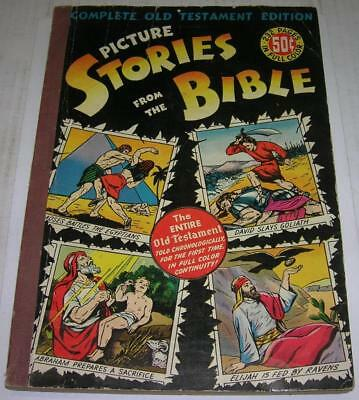 Picture Stories From The Bible Complete Old Testament Edition 5Th Print (Vg-)