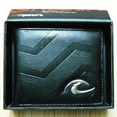 New with Box Rip Curl Men's Surf PU Leather Wallet  Xmas Gift #012