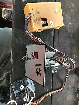 Used  Setomatic  Dryer Coin Drop, Board, And Relays For Dryer. 110volt