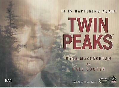 "Twin Peaks - HA1 ""It Is Happening Again - Dale Cooper"" Chase Card"