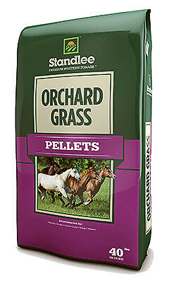 STANDLEE HAY COMPANY Forage, Orchard Grass Pellets, 40-Lb. Bag 1375-30101-0-0
