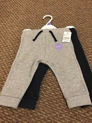 Baby Boy Nutmeg 2 Pack Of Joggers 3-6 Months