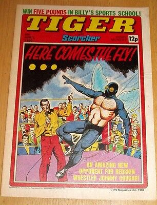 Tiger Comic 1980  With  Bristol Rovers Team  Centrefold  Poster
