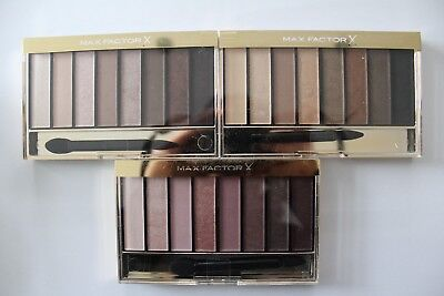 470bf40d2e7 Max Factor Masterpiece Nude Palette Contouring Eyeshadows 6.5g - Choose  Shade: