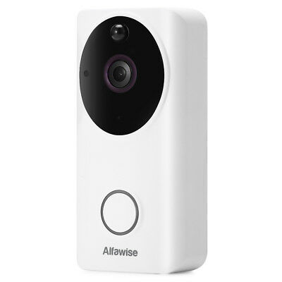 Alfawise L9 Wireless Smart WiFi Video Doorbell 166° View Angle IR Night Vision