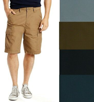 526c602b21 MENS LEVIS CARRIER loose crossrip cargo carrier shorts size 29 brown ...