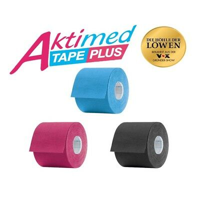 Aktimed Tape PLUS Physio Kinesio Tapes spezielle pflanzliche Extrakte (2,60€/1m)
