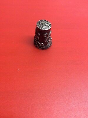 Antique Sterling 0925 Thimble