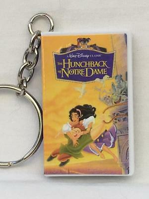 """Disney Mystery VHS Keychain """"Hunchback of Notre Dame"""" - 1 of 2 Mystery Chasers"""