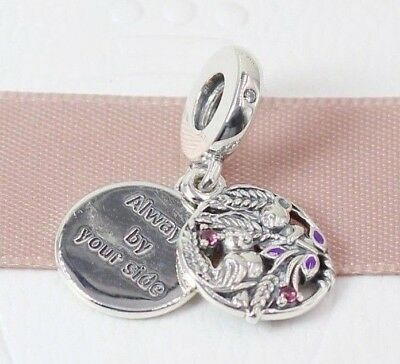 50bd31cab Pandora S925 Always By Your Side Pendant Charm -797671CZRMX +Tissue & Pop-up