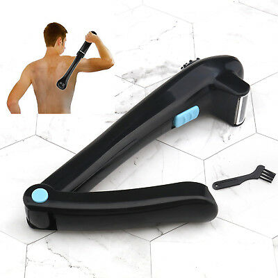 Electric Back Hair Shaver Remover DIY Tool Shaving Home Professional Trimmer