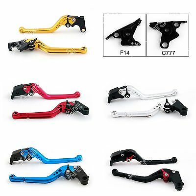 Long Brake Clutch Levers For Yamaha FJR 1300 2003 Buell 1125R 1125CR US E