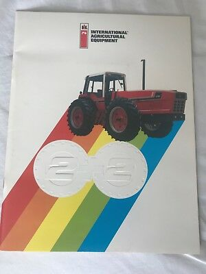 Vintage International Harvester IH  Red Power  3588 2+2 Owners Program Brochure