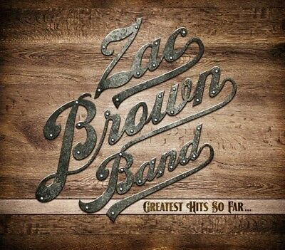Zac Band Brown - Greatest Hits So Far...  Cd New+