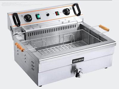 CE High-quality Commercial Electric Deep Fryer Single tank 20L with timer 220  m